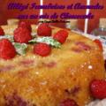 Allége framboises et amandes sur un air de cheesecake