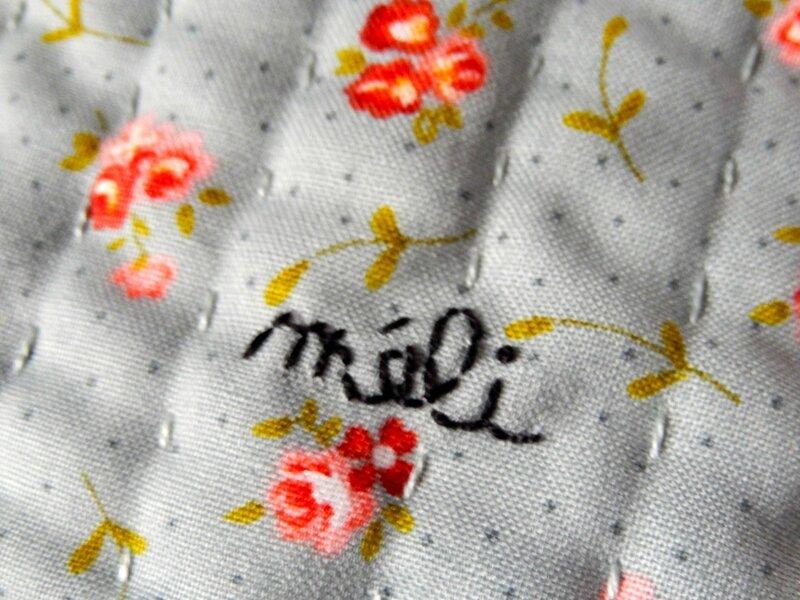 Pochette Piou&Fleurs méli