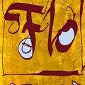 Bijoux. Collection bagues peintes et brodées.