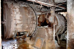 Machines à laver électrifiées Tanneries Chouwara FES Maroc