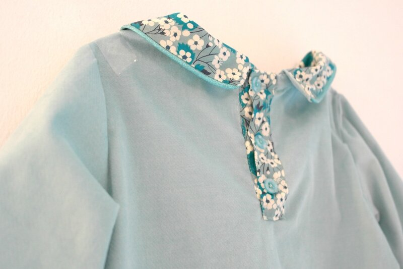 Robe velours Mitsi menthe_Chut Charlotte (2)