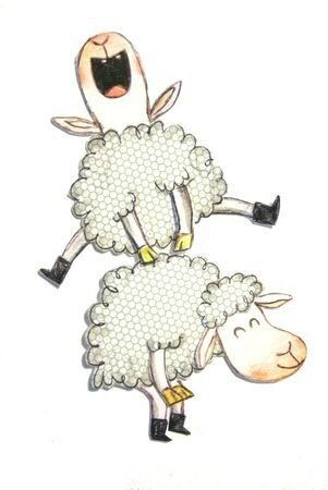 d98f146bbcdc13adde4b5952b9e3bddc--sheep-illustration-sheep-crafts