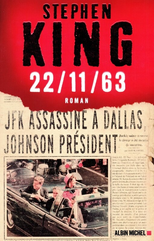 couverture Stephen King JFK