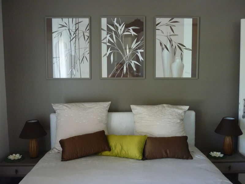 Photo 2 photo de chambre parentale ambiance zen decor for Idee deco chambre zen