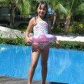 Maureen prête pour la piscine