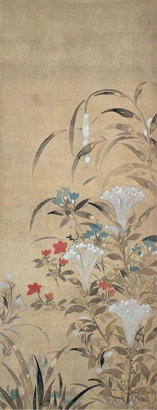 Tawaraya Sosetsu - Fleurs d'automne