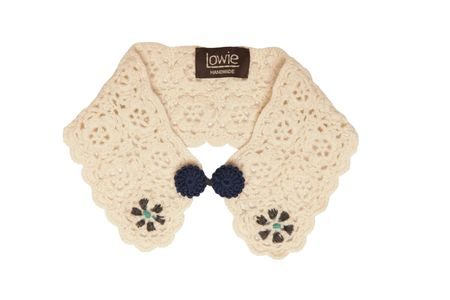 Crochet Collar - Cream copy