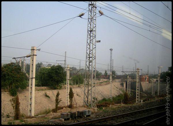 voies de chemin de fer de Chine grande vitesse et petite vitesse 05