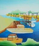 2008- Port des Brochets -55x48-