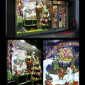 Illustration Vitrine de Noël magasin de Jouet