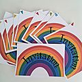 Rainbow invitation!