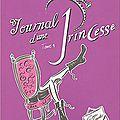 Journal d'une princesse, tome 1 : la grande nouvelle - extraits