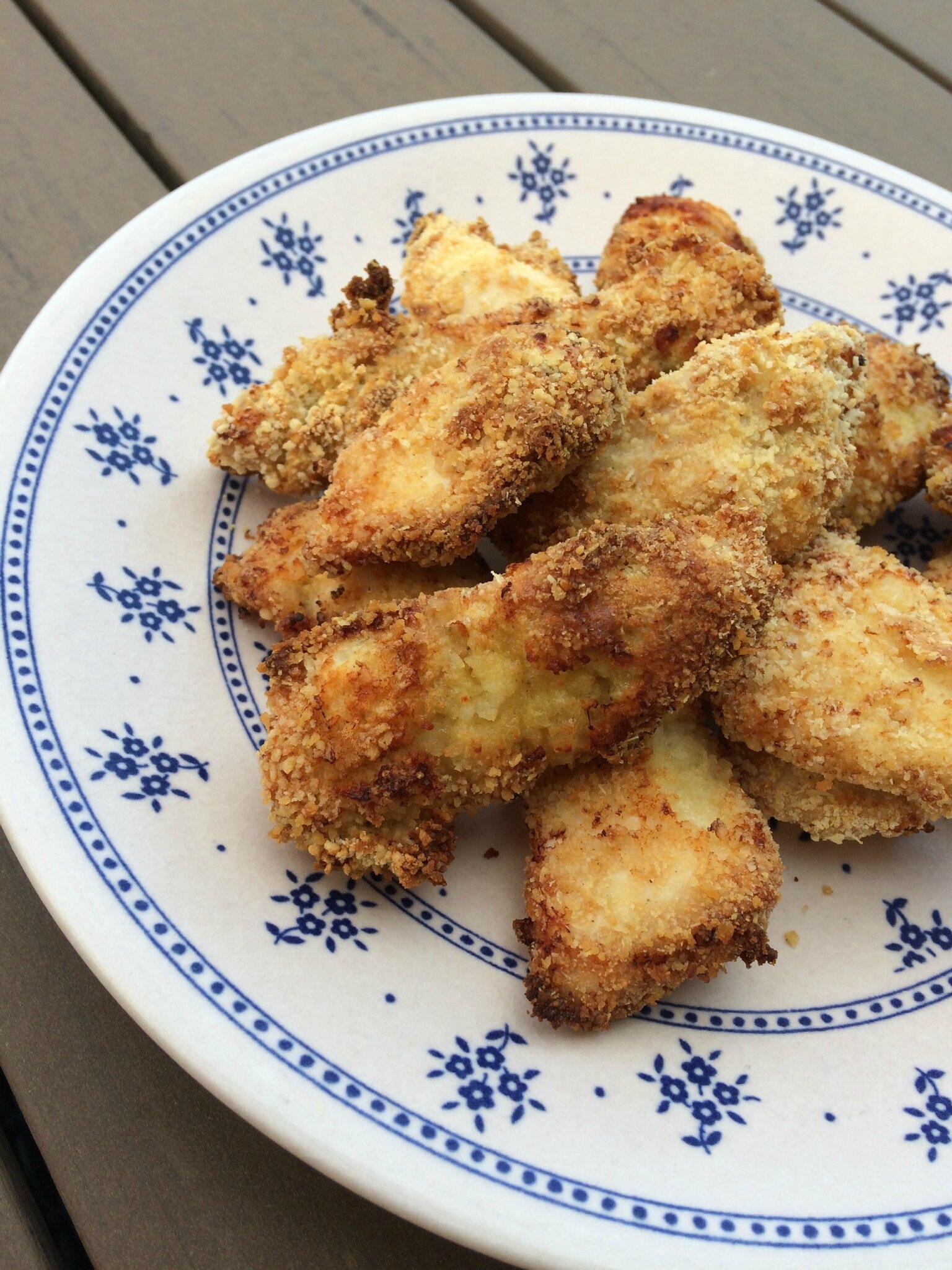viande nuggets de poulet cuits au four terre et mar. Black Bedroom Furniture Sets. Home Design Ideas