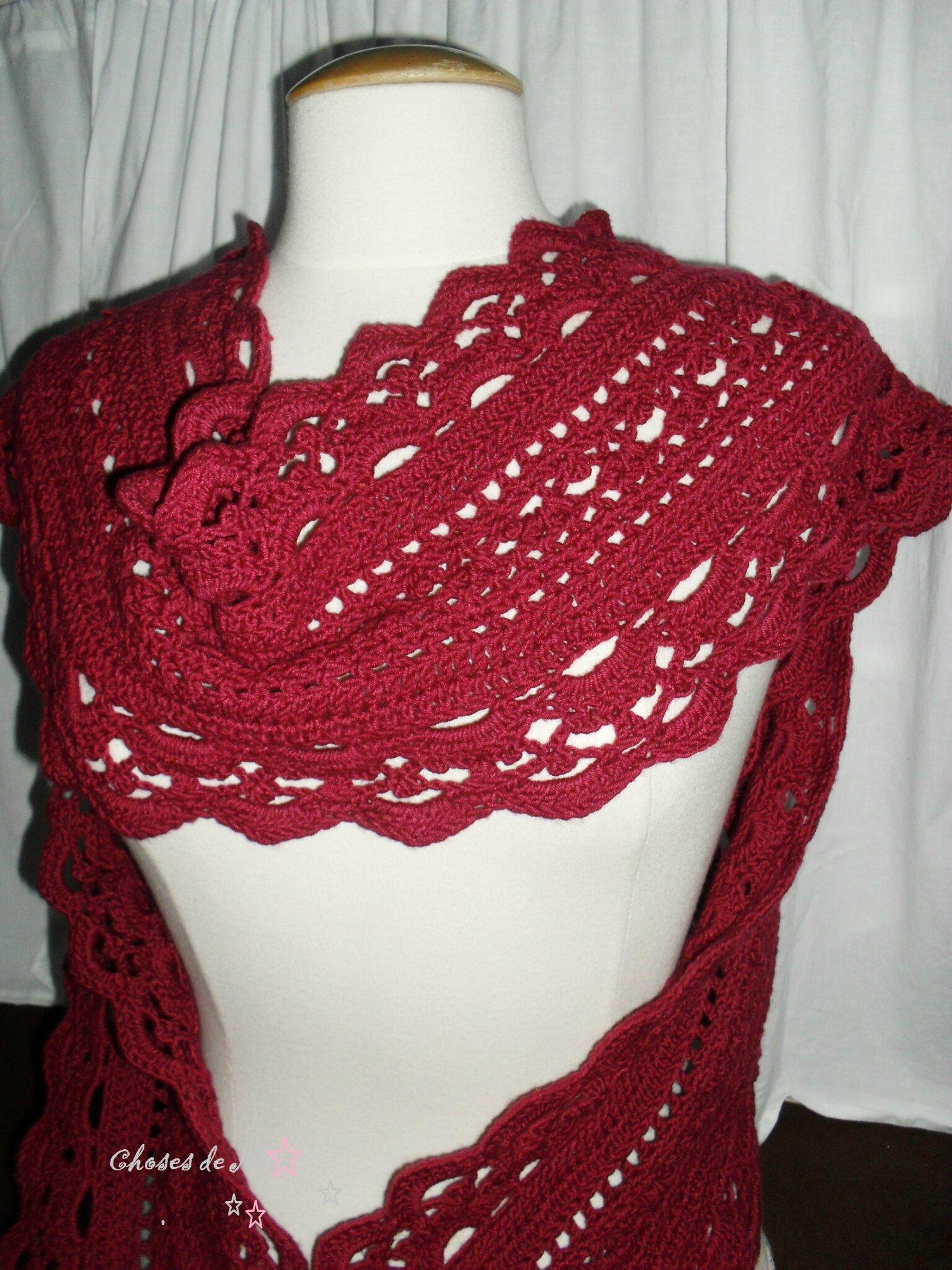 Emma lace scarf...