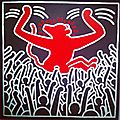 Keith haring - the political line