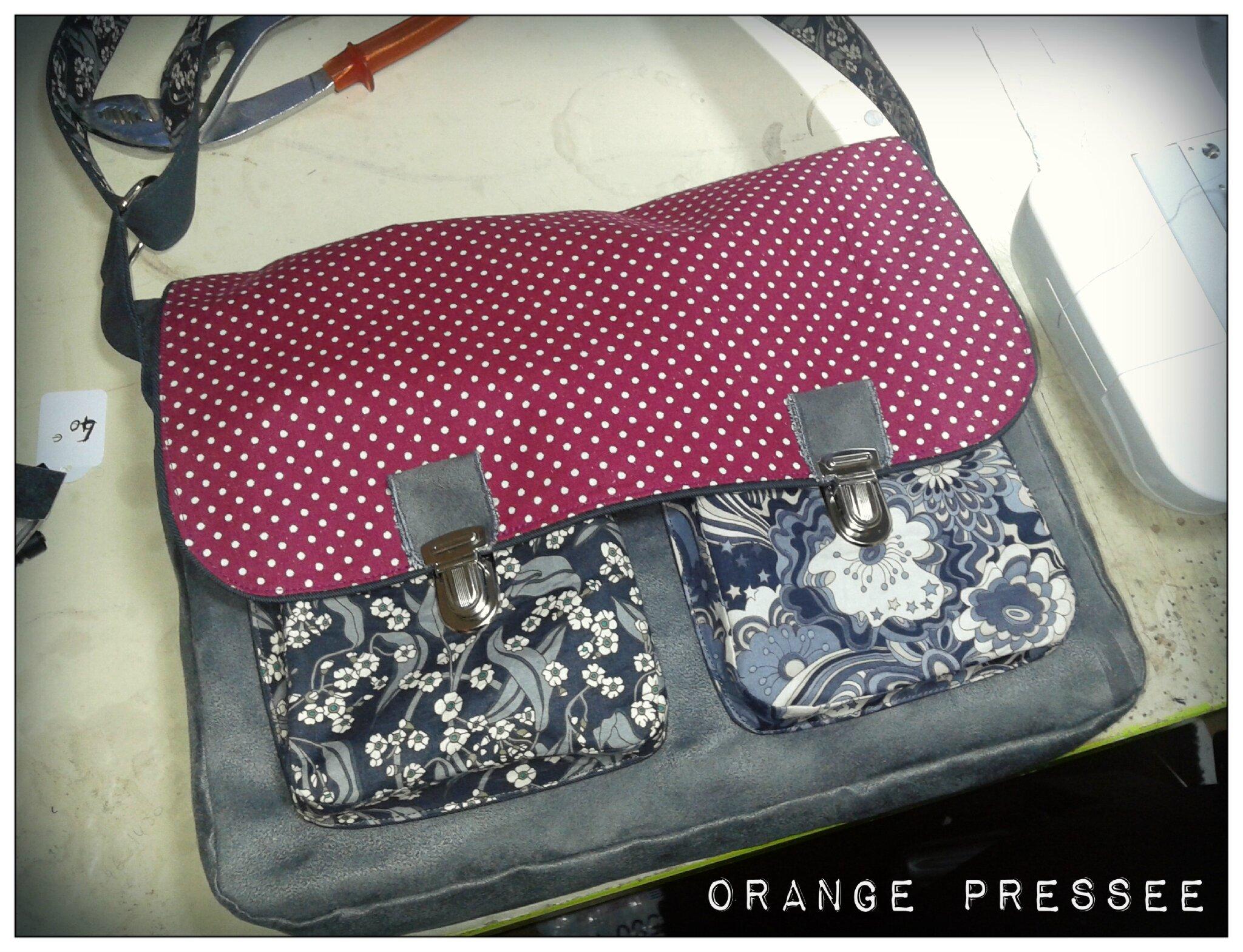 bags orange press e. Black Bedroom Furniture Sets. Home Design Ideas