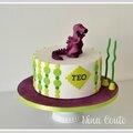 Gâteau anniversaire enfant nîmes ... et encore un dragon