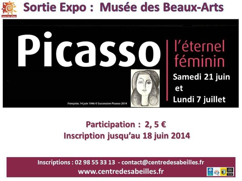 affiche Sortie Musées B-Arts et Breton