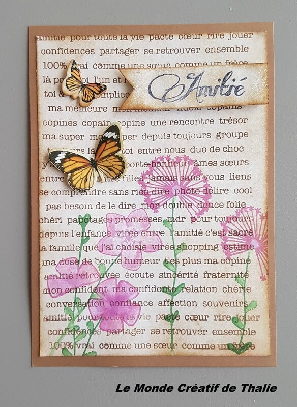 Carte N°3 inspiration Liberty scrap Mars 2017