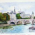 47 Le pont Neuf Paris