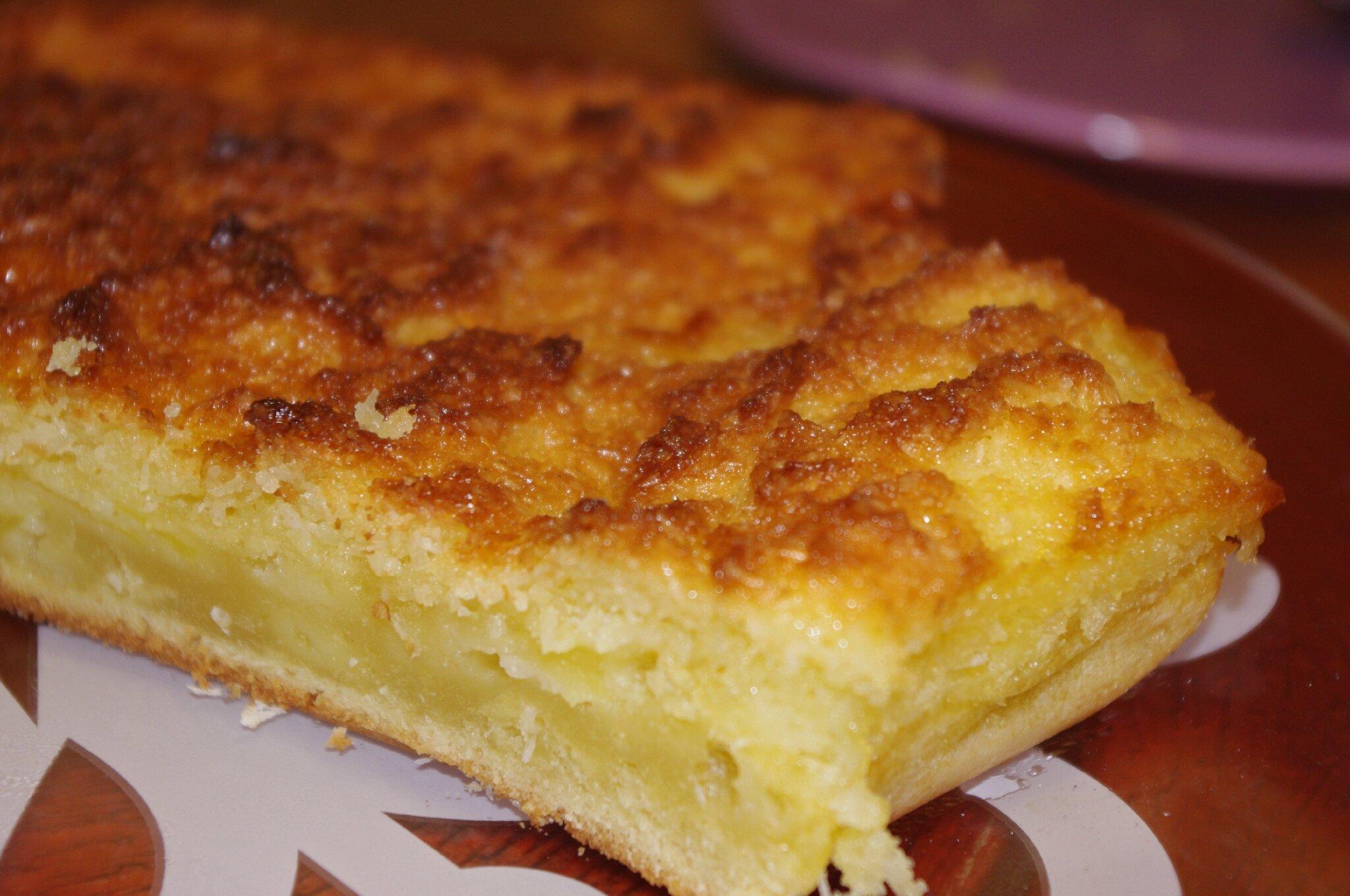G teau pommes coco les bonnes recettes de julie - Gateau avec beaucoup de lait ...