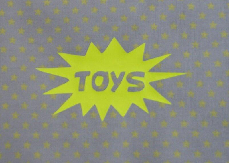 photo sac toys détail
