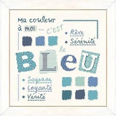 couleur bleue X003
