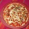 Tarte tomates poulet