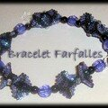 Bracelet de farfalles