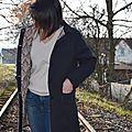 Un manteau à jolie doublure