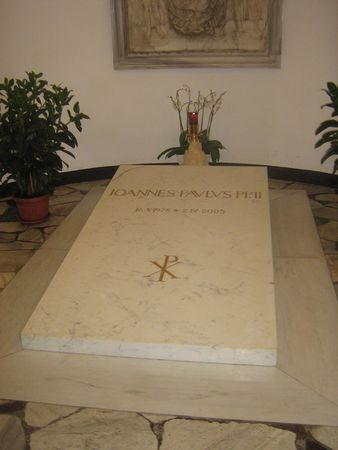 Tombe_de_Jean_Paul_II