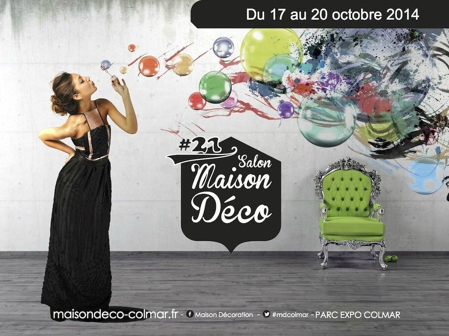 Salon Maison Déco de Colmar : La maison de Caroline - Mlle ...