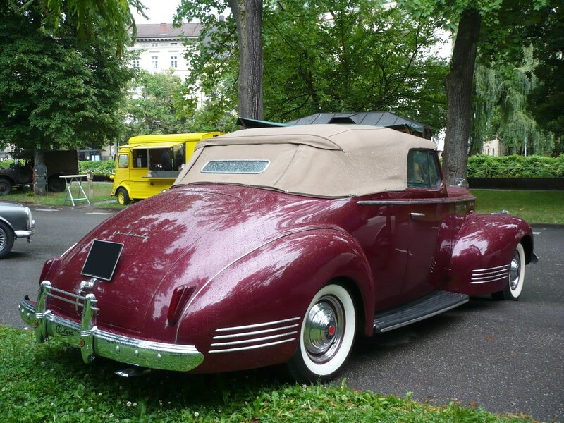 PACKARD One Twenty Deluxe 2door convertible 1941 Baden Baden (2)