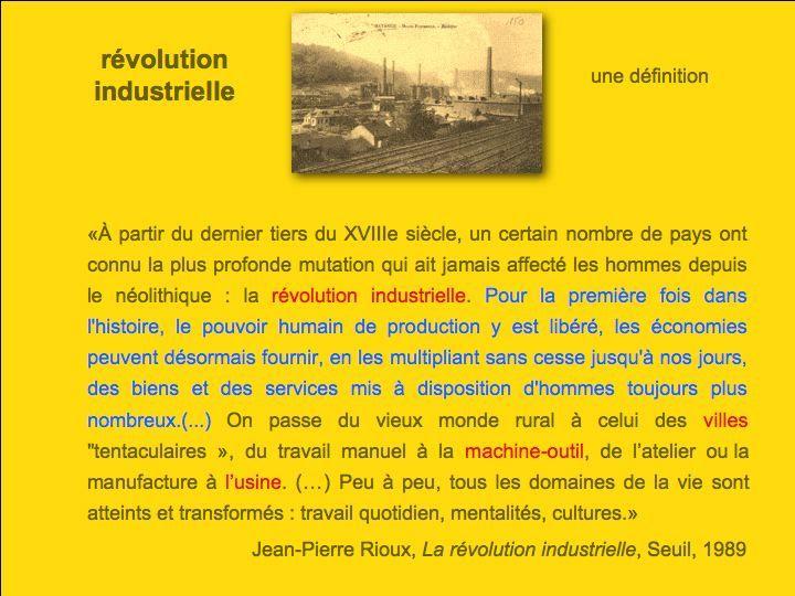 Dissertation Sur La Deuxieme Revolution Industrielle