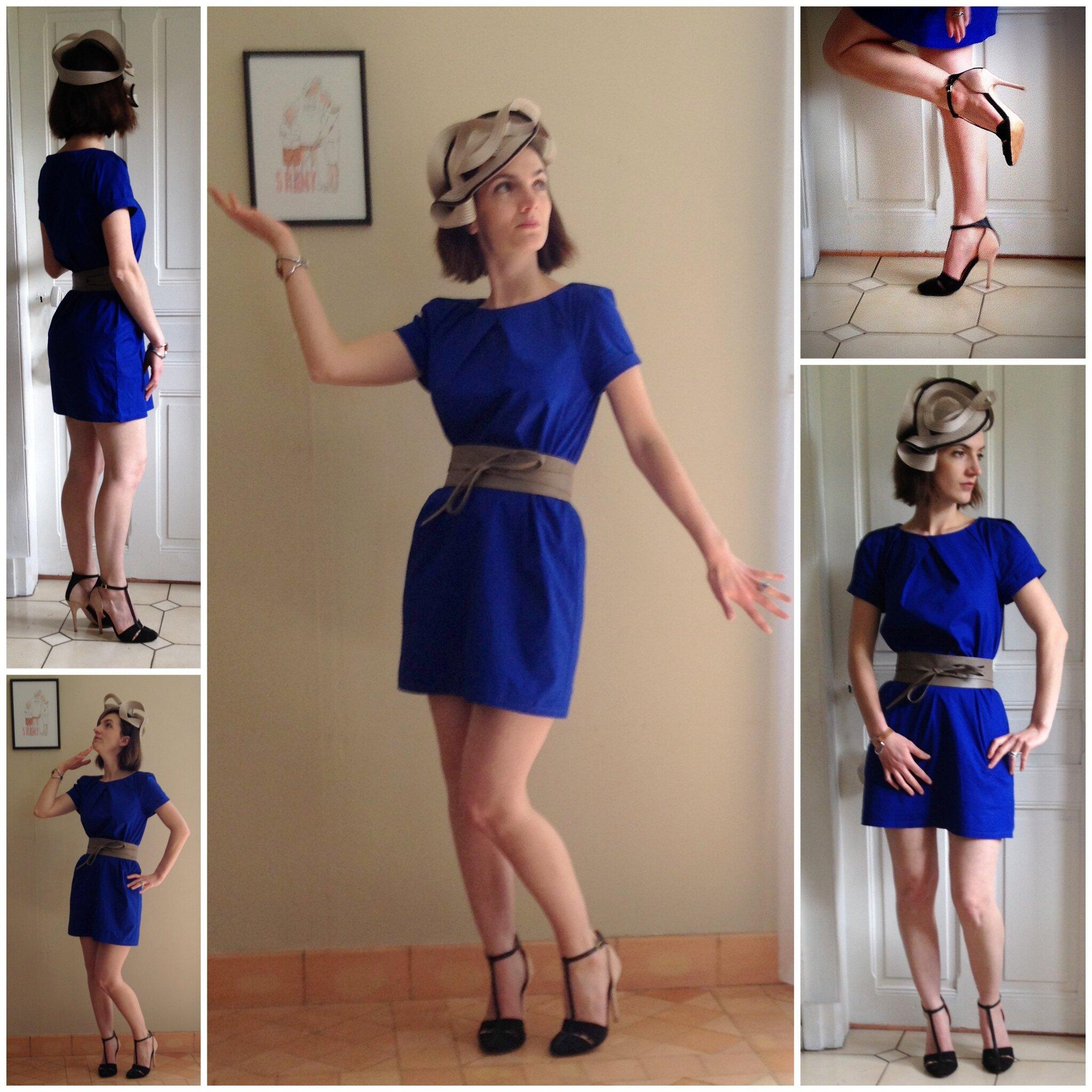 top robes blog quelles chaussures avec robe bleue electrique. Black Bedroom Furniture Sets. Home Design Ideas