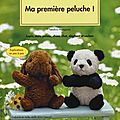 Vu! Ma premire peluche (livre)