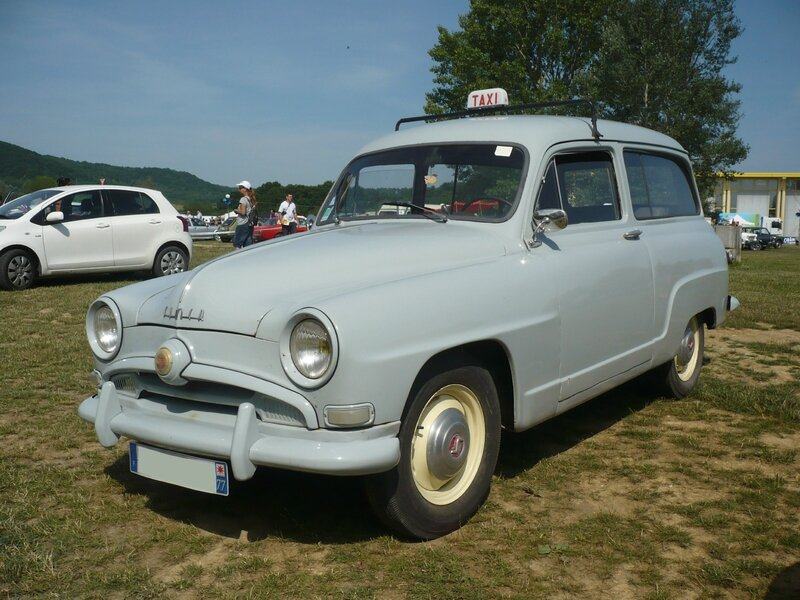 SIMCA 9 Aronde Châtelaine Taxi Madine (1)