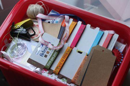 boite scrap cadeau gourmand blog chez requia