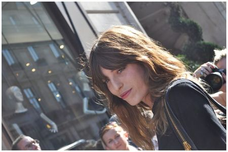 Lou Doillon Fashion Week Balmain2