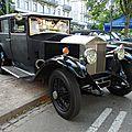 ROLLS ROYCE 20 HP carosserie Weymann 1929 Baden Baden (1)
