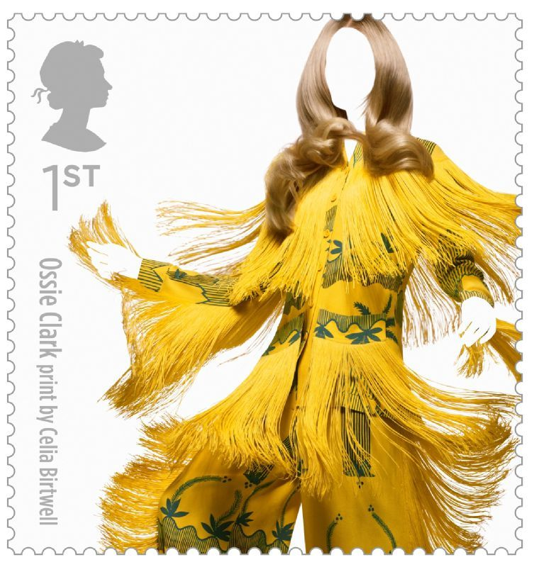 Fashion Stamps Ossie Clark