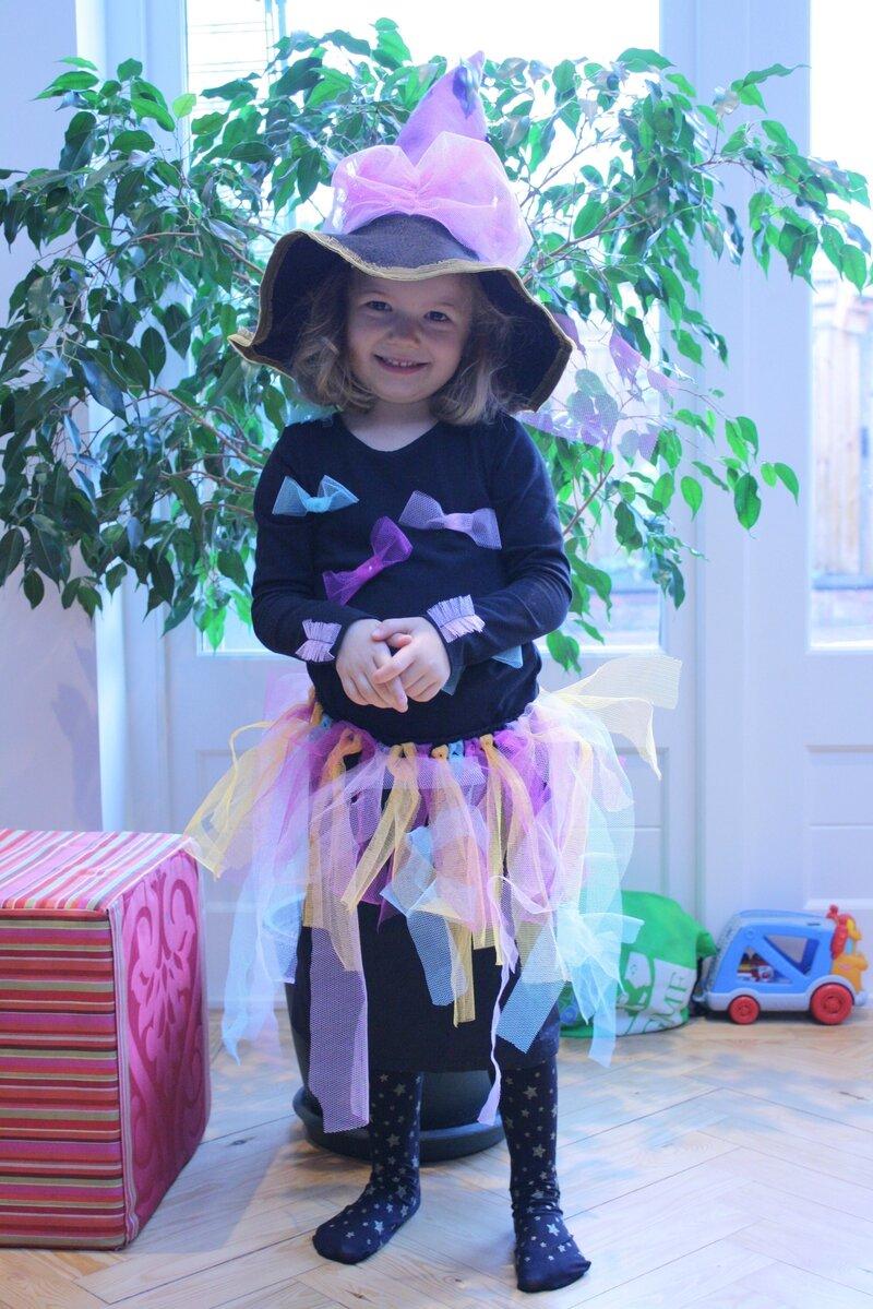 Costume de sorcière à tutu, à faire vous-même