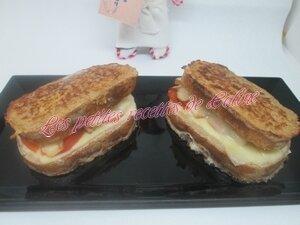 Pain perdu au poulet et tomates35