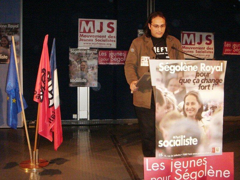 Sébastien Franco du MJS