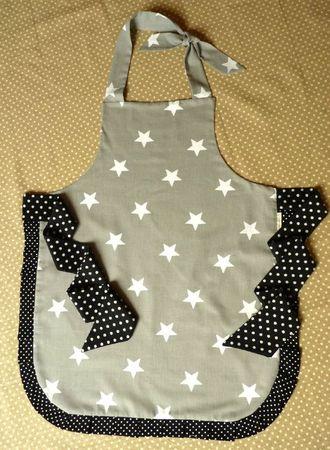 tablier gris à étoiles (2)