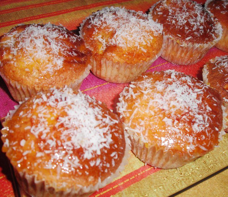 Ordinary Gateau Au Yaourt Confiture #13: Muffins Facon Gateau Au Yaourt à La Confiture Du0027abricot