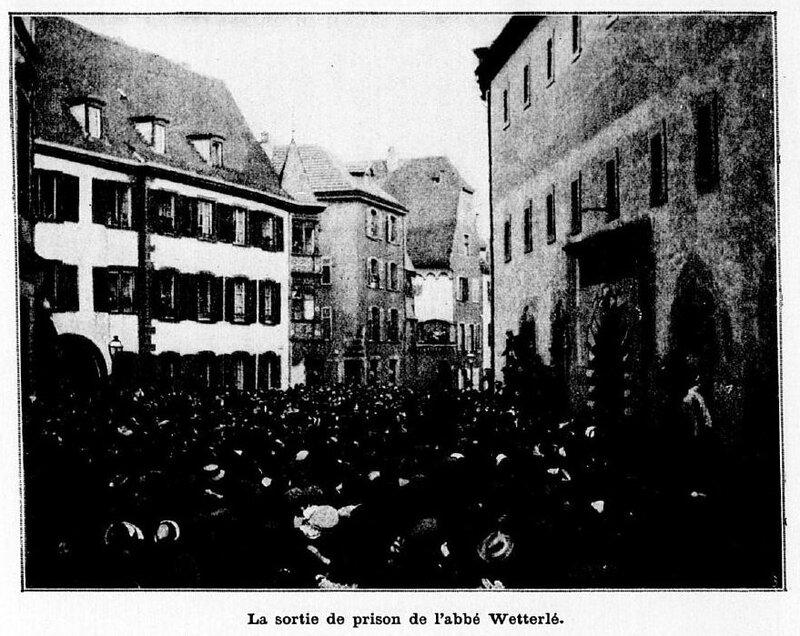 Sortie de prison Wetterlé