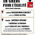 Mercredi 8 mars - appel à la grève !
