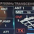 Icom ic7610 et overflow / ovf (radioamateur)