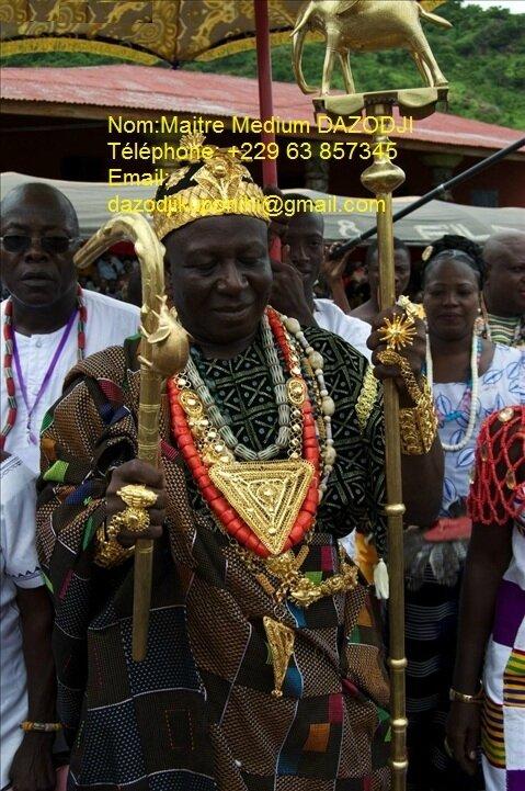 Grand voyant médium spirituel du Bénin efficace et discret dans n'importe quels travaux
